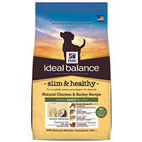 Hill's Ideal Balance Canine Slim & Healthy Natural Chicken and Barley Dry Food