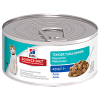 Hill's Science Diet Adult 7+ Tender Tuna Dinner Feline Cans