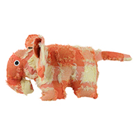 Hyper Patchwork Palz Elephant Dog Toy