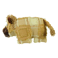 Hyper Patchwork Palz Lion Dog Toy