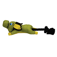 Hyper Pet Flying Pig Dog Toy Green