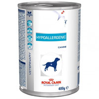Royal Canin Hypoallergenic Dog Food Cans