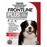 For Extra Large Dogs 40 To 60Kg (Red)