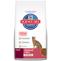 Hill's Science Diet Adult Optimal Care Feline Dry