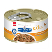Hill's Prescription Diet c/d Urinary Tract Health Canine Cans
