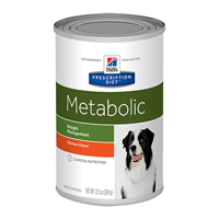 Hill's Prescription Diet Metabolic Advanced Weight Solution Canine Cans with Chicken Flavour