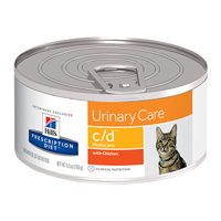 Hill's Prescription Diet c/d Multicare with Chicken Feline Cans