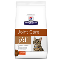 Hill's Prescription Diet j/d  Feline Joint Care with Chicken Dry