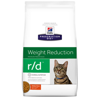 Hill's Prescription Diet r/d Feline Weight Reduction with Chicken Dry