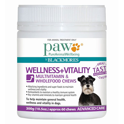 PAW Wellness & Vitality Multivitamin Chews for Dogs