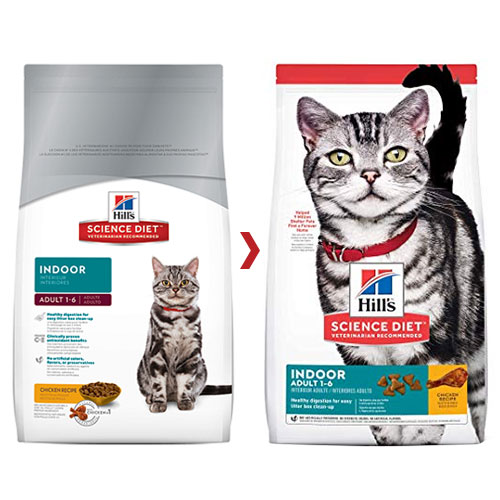 Hill's Science Diet Adult Indoor Chicken Dry Cat Food for Food