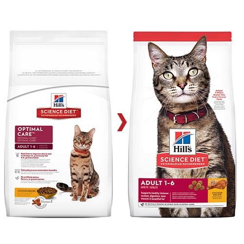 Hill's Science Diet Adult Chicken Dry Cat Food for Food