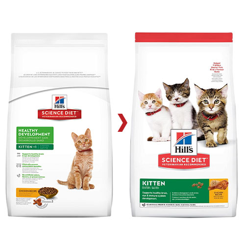 Hill's Science Diet Kitten Chicken Dry Cat Food for Food