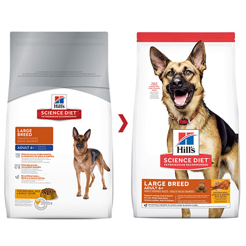 Hill's Science Diet Adult 6+ Large Breed Chicken, Barley & Rice Dry Dog Food for Food