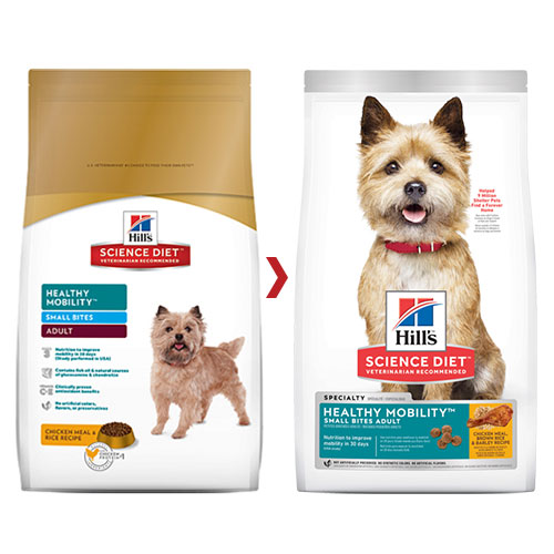 Hill's Science Diet Adult Healthy Mobility Small Bites Dry Dog Food  for Food