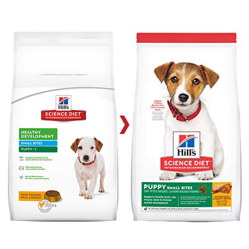 Hill's Science Diet Puppy Small Bites Chicken & Barley Dry Dog Food for Food