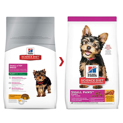 Hill's Science Diet Puppy Small Paws Chicken, Barley & Rice Dry Dog Food for Food