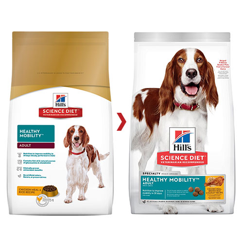 Hill's Science Diet Adult Healthy Mobility Chicken, Rice & Barley Dry Dog Food for Food