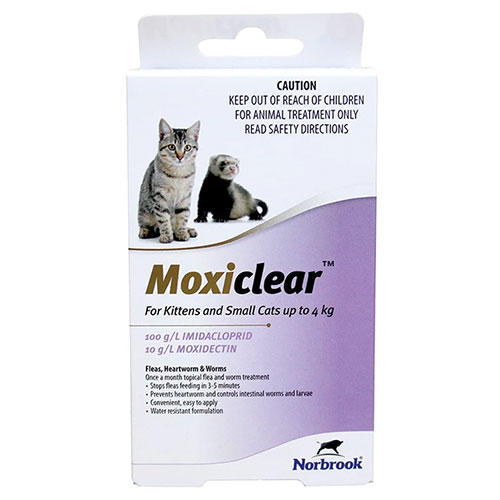 Moxiclear for Cats
