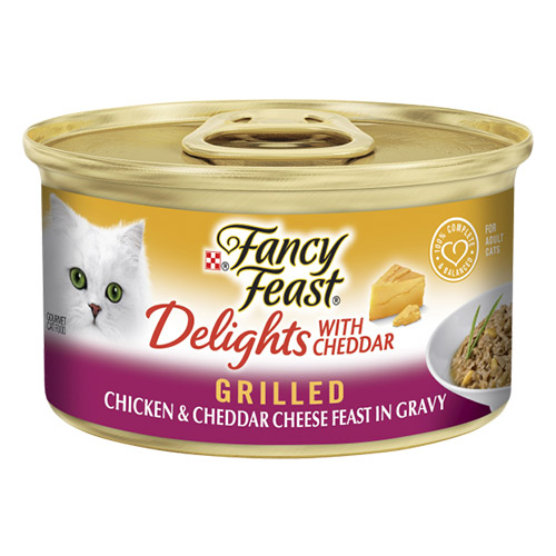 Fancy Feast Cat Adult Delights Cheddar Chicken for Food