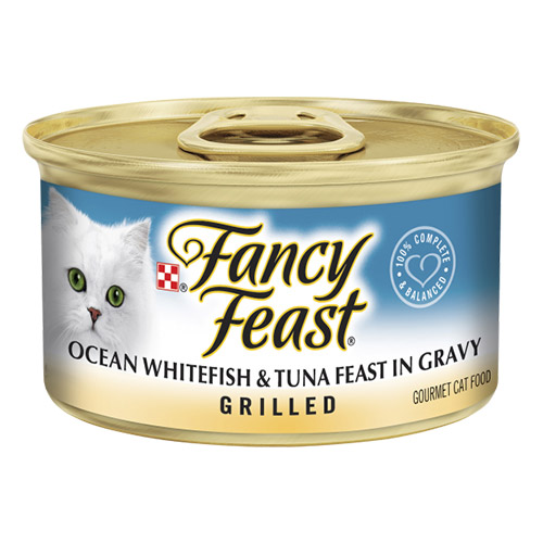Fancy Feast Cat Adult Grilled Ocean Whitefish Tuna for Food