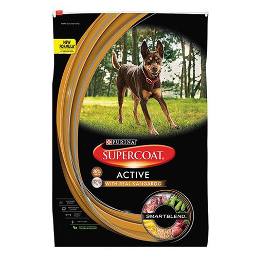 Supercoat Dog Adult Active for Food