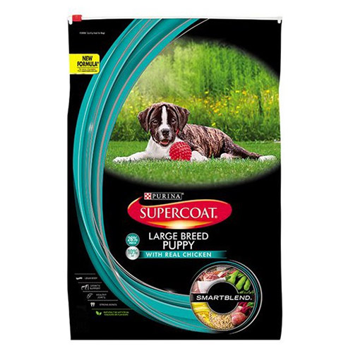 Supercoat Dog Puppy Large Breed for Food