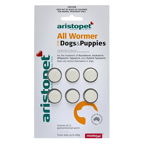 Aristopet AllWormer Dogs/Puppies for Dogs