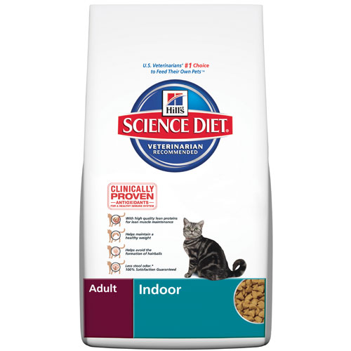 Hill's Science Diet Adult Indoor Feline Dry for Food