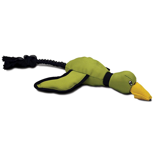 Hyper Pet Mini Flying Duck Dog Toy Green for Dogs
