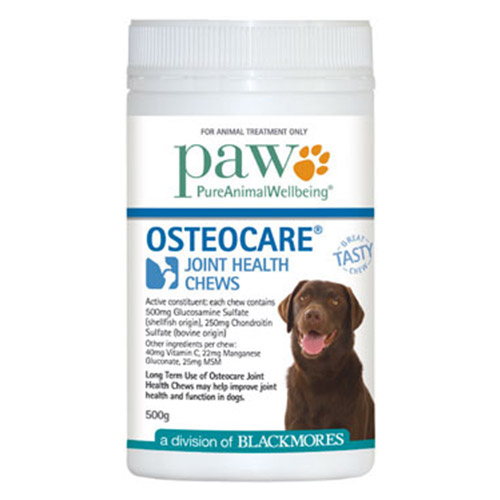 Paw Osteocare Chews for Dogs