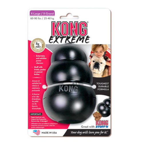 Kong Extreme Black Dog Toy  for Dogs