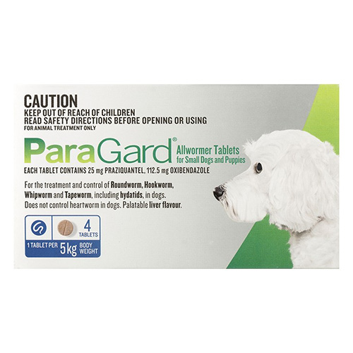 Paragard Broad Spectrum Wormer for Dogs